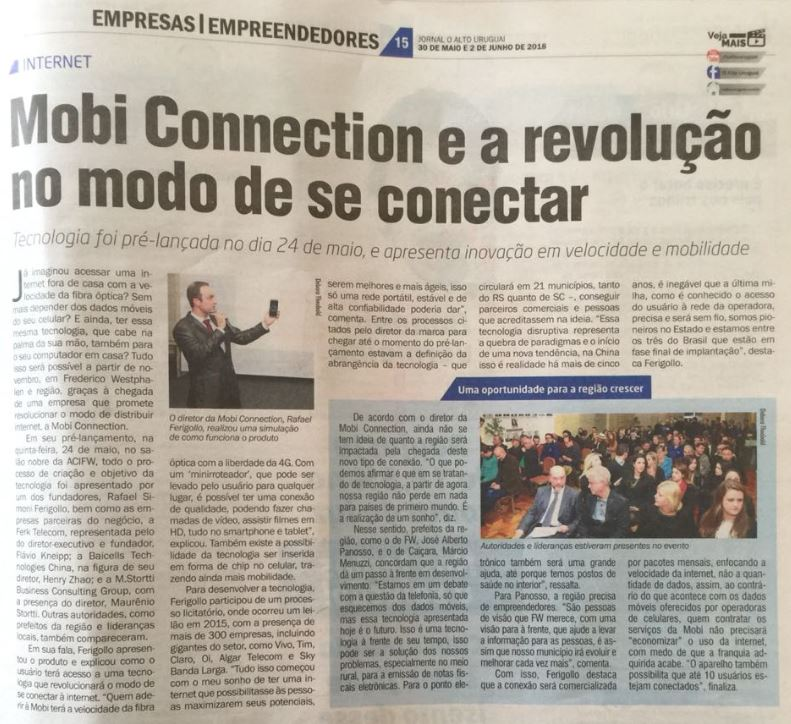 Notícia MOBI CONNECTION